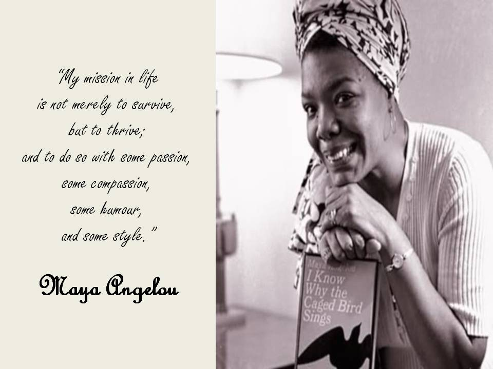 Dr Maya Angelou Global Renaissance Woman Creative Talanoa