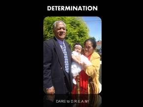 Dare to Dream DETERMINATION