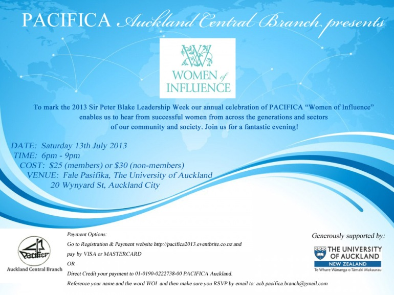 Women of Influence Leadership Event 2013